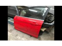 Ford Fiesta Mk7 Race Red Front Passenger Side Door