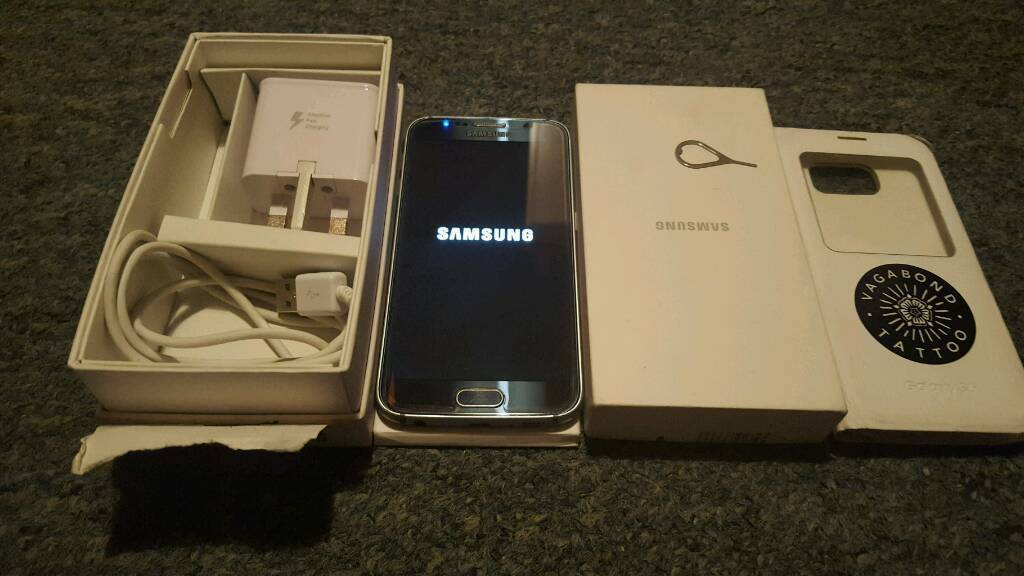 Samsung Galaxy s6 unlocked comes with box and all accessories Excellent Conditionin Old Street, LondonGumtree - Samsung Galaxy S6 32GB Unlocked comes with tempered glass screen protector, case original Samsung box user manuals, charger and USB lead. Phone is still under Samsung warranty.Excellent condition see detailed pictures. Can be picked up from Liverpool...