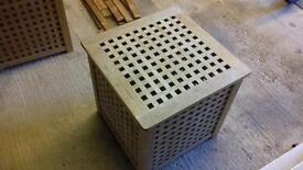 Ikea wooden storage box