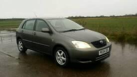 Toyota corolla 2.0d4d 2004