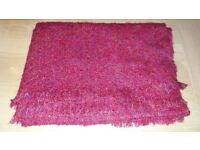 Ideal Christmas Gift - Ladies' Red Scarf