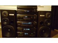 Kenwood M-97M 6 Piece Midi System (VGC)