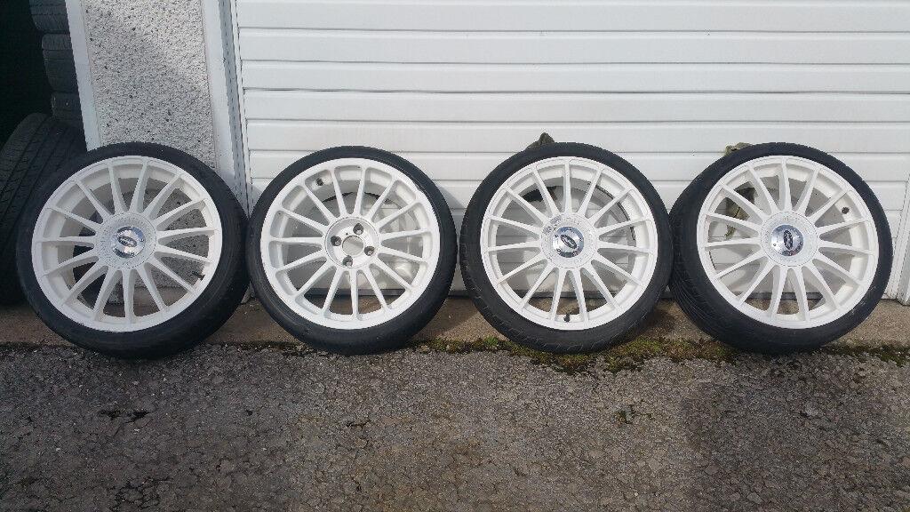 Dynamics MotorSpotr Team 18 '' alloy wheels + 4 x tyres 215 35 18 Vauxhall,Honda,Renault,and more