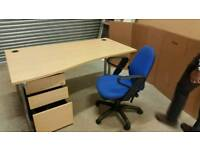 Wavedesk and Pedestal Drawer to clear