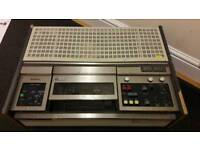 Vintage Sony U-matic VCR video recorder. Collectors Piece