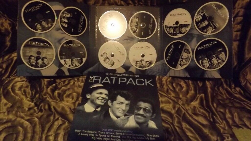 Ratpack set of CDs and Set of Classical CDs