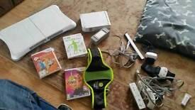 Wii set / wii fit , Zumba , active 2