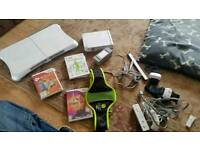 Wii set / wii fit , Zumba , active 2