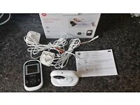 Motorola MBP18 Digital Video Infrared Night Vision Baby Monitor in Box Mint New