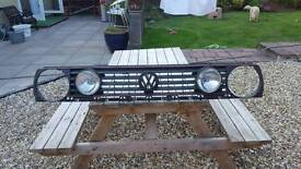 vw golf front grill