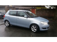 2010(60)SKODA FABIA 1.6 TDi SE MET BLUE,FSH,NEW MOT,2 OWNER,£20 TAX,BIG MPG,CLEAN CAR,GREAT VALUE