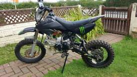 Ghost yx 125 cc pitbike