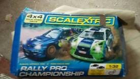 SCALEXTRIC RALLY PRO CHAMPIONSHIP
