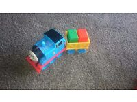 Thomas the tank and carriage