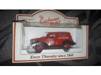selection of collectable cars all boxed