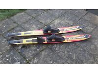 """Water skis. O'brien freestyle combo water skis 68"""""""