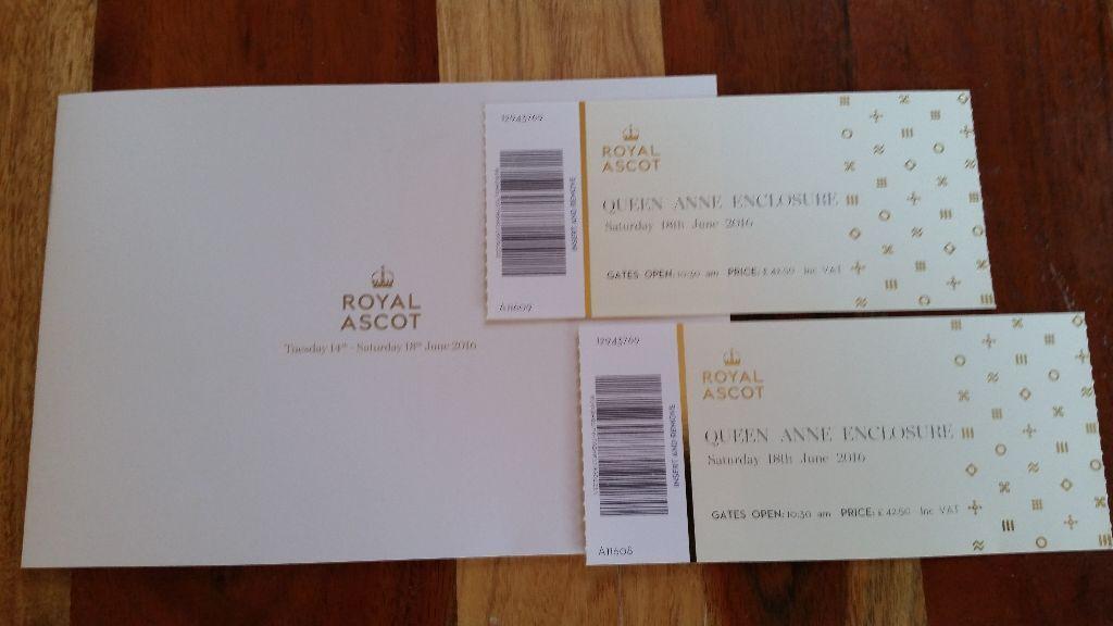 royal ascot saturday tickets