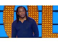 3 x Tickets for Reginald D Hunter Live 10th March 2018 in Northampton