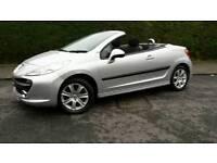 AUGUST 2009 PEUGEOT 207CC CONVERTIBLE SPORTS CAR,audi,bmw,vauxhall,rs,vans,gt,mx5,renault,seat,mini
