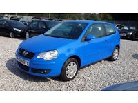 Volkswagen POLO 1390cc Automatic, Hatchback, Blue, 2006 (06) Full Mot*** Cheap Automatic***