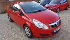 VAUXHALL CORSA 1.2i 16v 3dr Active, Under 26k Miles, Free 3 Months Warranty Included