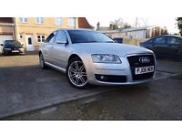 2006 AUDI A8 SE TDI QUATTRO DIESEL AUTOMATIC, 155K MILAGE WHITS FULL SERVICE HISTORY
