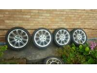 Bmw mv2 alloy wheels 18s