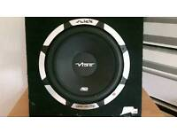 Vibe SLR 1200w built in amp
