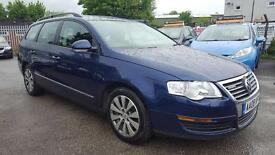 VW PASSAT 1.9 TDI BLUEMOTION TECH ESTATE 2008 / 1 OWNER / FULL SERVICE HISTORY / HPI CLEAR / 2 KEYS