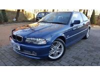 2003 Bmw 3 Series 330Ci Se Manual 2 Door Coupe With Only 49k
