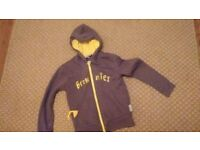 brownies fleece jacket for girls size 7-8 years old