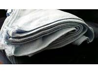 10 Premium Microfibre Cloths 40 x 40cm 280 gsm valeting, drying, cleaning machine washable