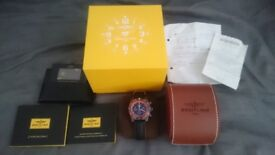 Brietling Chronomat 44 Raven Special Series Mens Watch - Excellent Condition