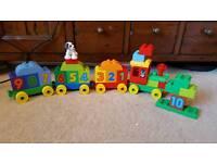 Duplo train set x2