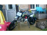 Pitbike 110cc hundreds spent