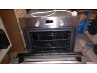 Electrolux single oven stainless steel