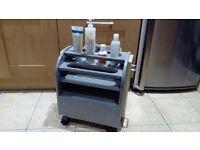Manicure /pedicure trolley