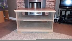 Limed Oak Coffee Table/TV Stand