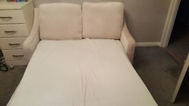 Cream / Beige - Sofa Bed