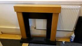 Wood Fire Surround.