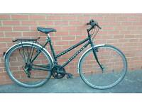 Falcon Explorer ladies hybrid city town commuter bike bicycle fully serviced perfect working order