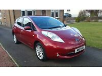 Nissan LEAF Acenta 24kWh, Magnetic Red, 3.3kW charger