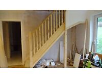 Brand new UNFITTED bespoke pine and mdf staircase by Benchmarx