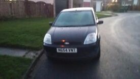 Swap 54 plate ford fiesta for a larger car