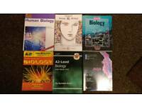 A Level Biology text books