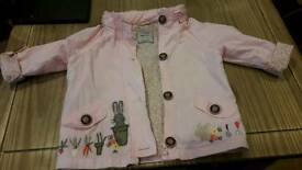 Next girls jacket and dress age 2 to 3