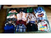 Boys clothes aged 4-5 years Next F&F