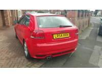 2004 AUDI A3 sport 1.6 petrol 3 DOOR RED