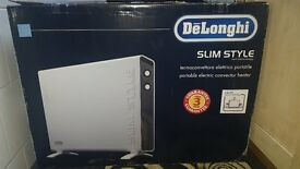 Delonghi HCX3124FS Slimstyle Convector Heater in White
