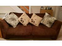 Sofa and Swivel comfy chair for sale